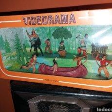 Figuras de Goma y PVC: ANTIGUA CAJA VIDEORAMA REAMSA. Lote 140361218