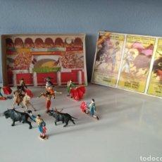 Figuras de Goma y PVC: ANTIGUA CAJA CORRIDA DE TOROS, JECSAN, REAMSA, PECH... Lote 137840738
