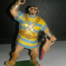 Figuras de Goma y PVC: GOLIATH CON POLLO. ESTEREOPLAST.. Lote 140551022