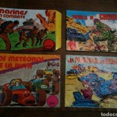 Figuras de Goma y PVC: 4 SOBRES ALFREDO LOSADA. VACIOS. MONTAPLEX. Lote 140607206