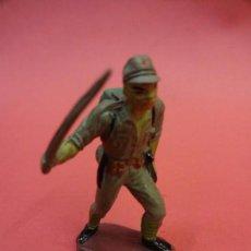 Figuras de Goma y PVC: SOLDADOS JAPONESES II GUERRA MUNDIAL. PECH HNOS. GOMA 60 MM. Lote 140757542