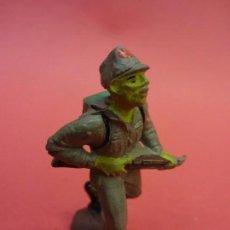 Figuras de Goma y PVC: SOLDADOS JAPONESES II GUERRA MUNDIAL. PECH HNOS. GOMA 60 MM. Lote 140760862