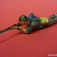 Figuras de Goma y PVC: AMERICANOS EN COMBATE II GUERRA MUNDIAL. PECH HNOS. GOMA 60 MM. Lote 140766010