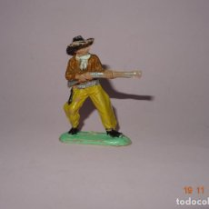 Figuras de Goma y PVC: ANTIGUO VAQUERO COW BOY EN PLÁSTICO PINTADO A MANO DE JECSAN - TIPO PECH - REAMSA - COMANSI. Lote 140782206
