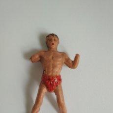 Figuras de Goma y PVC: FIGURA TARZÁN GOMA JECSAN. Lote 140782274