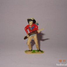 Figuras de Goma y PVC: ANTIGUO VAQUERO COW BOY EN PLÁSTICO PINTADO A MANO DE JECSAN - TIPO PECH - REAMSA - COMANSI. Lote 140782302