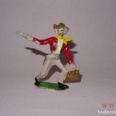 Figuras de Goma y PVC: ANTIGUO VAQUERO COWBOY EN PLÁSTICO PINTADO A MANO DE COMANSI - TIPO PECH - REAMSA - JECSAN. Lote 140783842