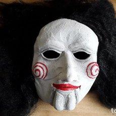 Figuras de Goma y PVC: MASCARA TERROR - PELICULA SAW - MUY REALISTA - VER TOTO ADICIONAL Y LEER DESCRIPCIÓN. Lote 140852890