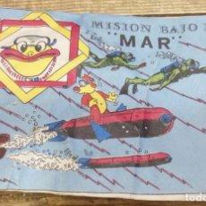 Figuras de Goma y PVC: MISION BAJA EL MAR - MONTAPLEX ¡AÑOS 70!. Lote 140866598