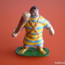 Figuras de Goma y PVC: FIGURA DE GOMA DE LOS AÑOS 70, GOLIAT DE JIN (ESTEREOPLAST) CON LICENCIA BRUGUERA, A ESTRENAR.. Lote 140889574