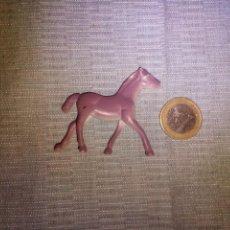Figuras de Goma y PVC: MINIATURA CABALLITO DE GOMA ANIMALES DIORAMA 4X3 CM. Lote 140933602