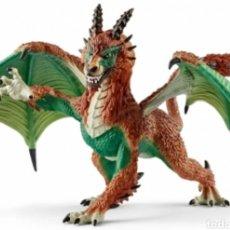 Figuras de Goma y PVC: FIGURA PVC DRAGON CAZADOR FURTIVO. Lote 140954674
