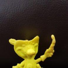 Figuras de Goma y PVC: FIGURA MONOCROMA MOSQUESEROS CHETOS A LOS 80. Lote 141055209