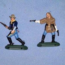 Figuras de Goma y PVC: 7º DE CABALLERIA MARCA BRITAINS AÑO 1971 DE GOMA Y METAL EN MUY BUEN ESTADO VER FOTOS Y DESCRIPCION. Lote 141129658