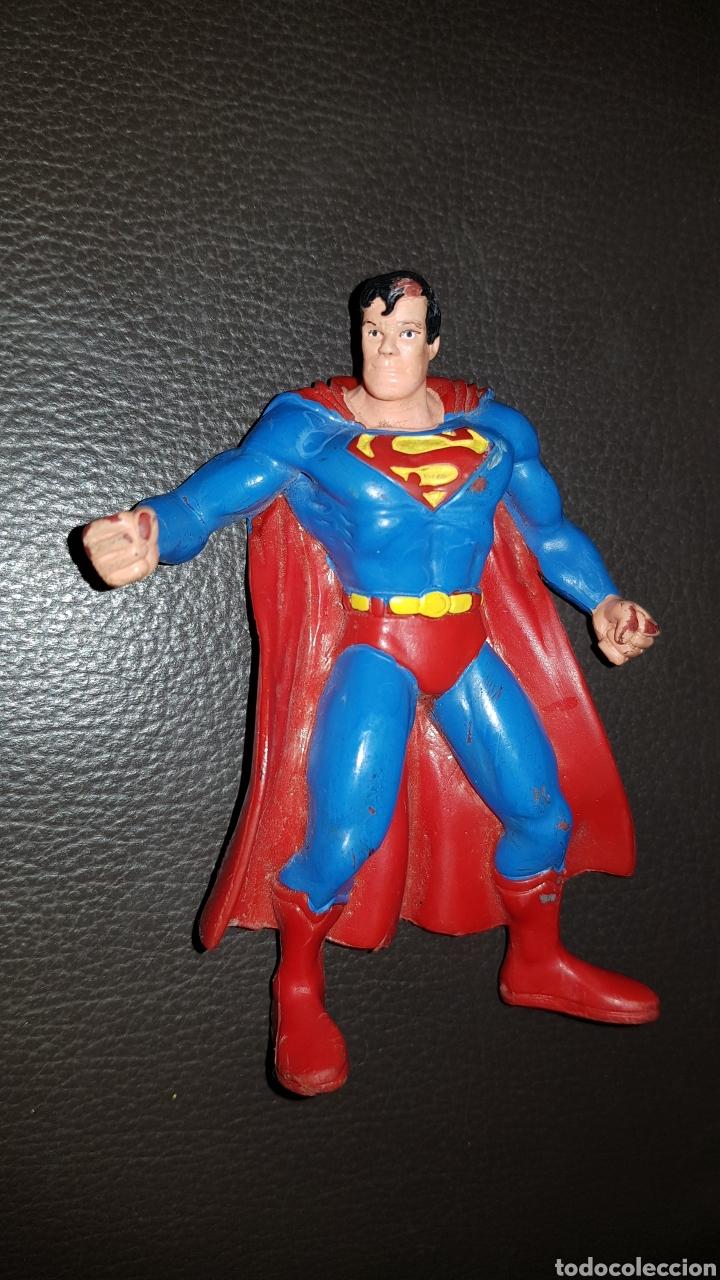 Figuras de Goma y PVC: Figura pvc Superman Cómics Spain Goma - Foto 2 - 141174792