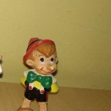 Figuras de Goma y PVC: FIGURA PINOCHO WALT DISNEY PVC CUENTOS CLÁSICOS GEPETO PEPITO GRILLO. Lote 117818779