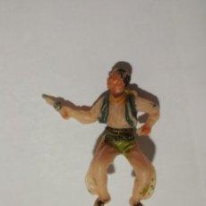 Figuras de Goma y PVC: JINETE VAQUERO JECSAN. Lote 141241926