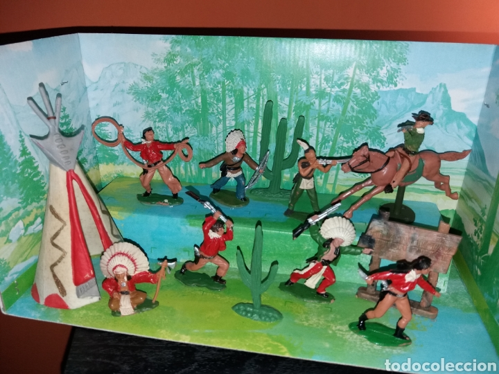 Figuras de Goma y PVC: Antigua caja VIDEORAMA REAMSA - Foto 4 - 155870989