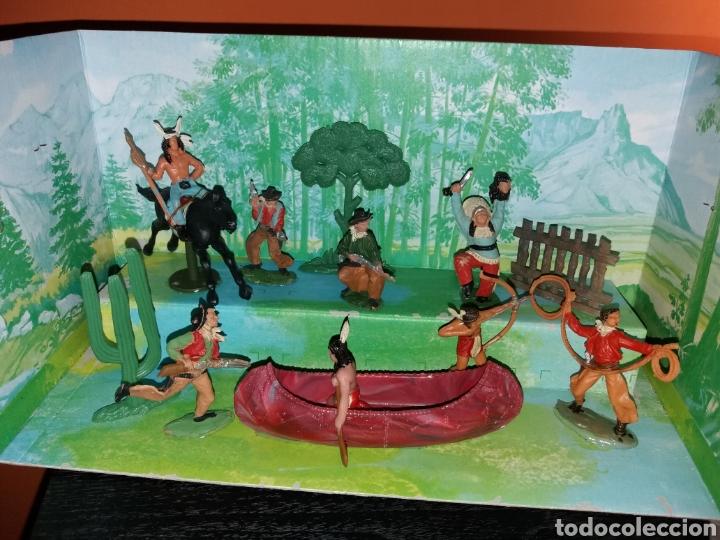 Figuras de Goma y PVC: Antigua caja VIDEORAMA REAMSA - Foto 2 - 140361218