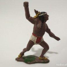 Figuras de Goma y PVC: INDIO TEIXIDO GOMA. Lote 141435510
