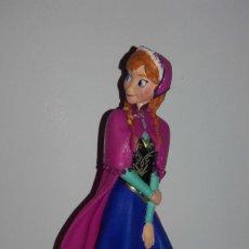 Figuras de Goma y PVC: FIGURA MUÑECA PRINCESA DISNEY FROZEN ANNA BULLY. Lote 141559430