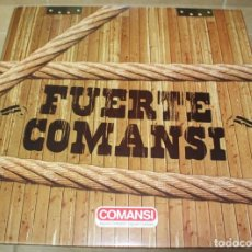 Figuras de Goma y PVC: CAJA FUERTE COMANSI NUEVA CON INDIOS, VAQUEROS Y FEDERALES. Lote 141660982
