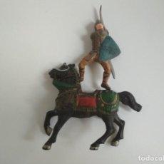 Figuras de Goma y PVC: FIGURAS MEDIEVAL REAMSA GOMA. Lote 141677734