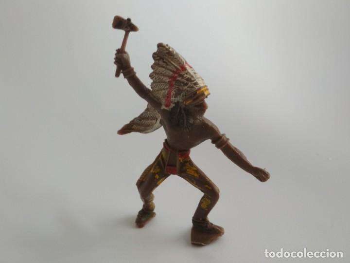 FIGURA INDIO COMANSI (Juguetes - Figuras de Goma y Pvc - Comansi y Novolinea)