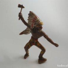 Figuras de Goma y PVC: FIGURA INDIO COMANSI . Lote 141777246