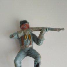Figuras de Goma y PVC: FIGURA JINETE YANKEE COMANSI PRIMERA ÉPOCA. Lote 141785610