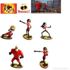Figuras de Goma y PVC: FIGURAS PVC DISNEY BULLYLAND LOS INCREIBLES. Lote 141809662