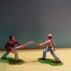 Figuras de Goma y PVC: FEDERAL Y CONFEDERADO. Lote 141835694