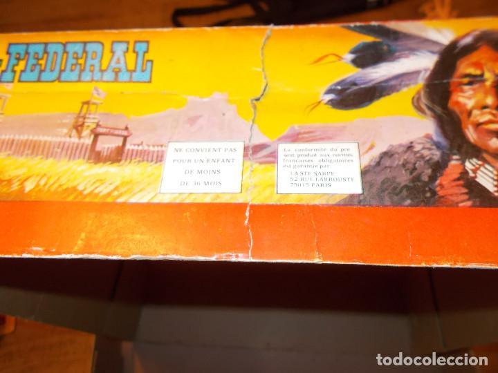 Figuras de Goma y PVC: COMANSI FORT FEDERAL EN CAJA REF. 119 MADERA Y PLÁSTICO SOLDADOS COWBOY FUERTE OESTE AÑOS 70/80.PTOY - Foto 12 - 141951874