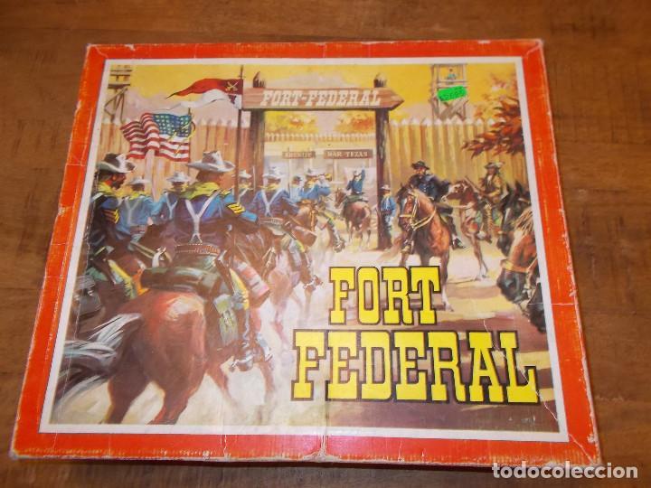 Figuras de Goma y PVC: COMANSI FORT FEDERAL EN CAJA REF. 119 MADERA Y PLÁSTICO SOLDADOS COWBOY FUERTE OESTE AÑOS 70/80.PTOY - Foto 14 - 141951874