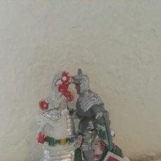 Figuras de Goma y PVC: CABALLO CON LANCERO LAFREDO. Lote 141953633