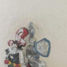 Figuras de Goma y PVC: FIGURA CABALLO Y CABALLERO LAFREDO. Lote 141953985