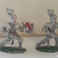 Figuras de Goma y PVC: FIGURAS GUERREROS LAFREDO. Lote 141954248