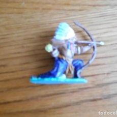 Figuras de Goma y PVC: FIGURA DE INDIO DE REAMSA GOMARSA. Lote 141999238