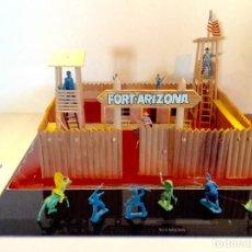 Figuras de Goma y PVC: COMANSI FORT ARIZONA Y FIGURAS VARIADAS. Lote 142108386