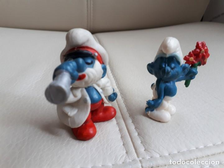 Figuras de Goma y PVC: LOTE DE PITUFOS AÑOS 80 - Foto 2 - 142111594