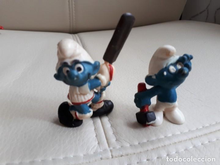 Figuras de Goma y PVC: LOTE DE PITUFOS AÑOS 80 - Foto 3 - 142111594