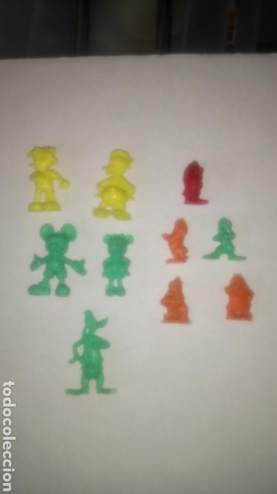 LOTE DE 10 FIGURAS DUNKIN. COLECCIÓN DISNEY. (Juguetes - Figuras de Goma y Pvc - Dunkin)