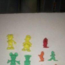 Figuras de Goma y PVC: LOTE DE 10 FIGURAS DUNKIN. COLECCIÓN DISNEY.. Lote 142218452