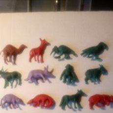 Figuras de Goma y PVC: LOTE DE 18 FIGURAS TITO. COLECCIÓN ANIMALES.. Lote 142218853