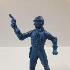 Figuras de Goma y PVC: SOLDADO FEDERAL . REALIZADO POR COMANSI . EN PLASTICO MONOCOLOR. Lote 142233946