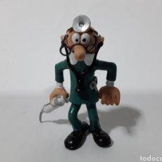 Figuras de Goma y PVC: FIGURA PVC MORTADELO DISFRAZADOS DE MÉDICO ENFERMERO. CATALONIA PRESS 86. CÓMIC SPAIN.. Lote 143731008