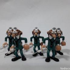 Figuras de Goma y PVC: LOTE 5 FIGURAS PVC MORTADELO DISFRAZADOS DE MÉDICO ENFERMERO. CATALONIA PRESS 86. CÓMIC SPAIN.. Lote 142844477