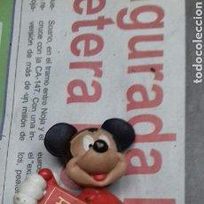 Figuras de Goma y PVC: MICKEY MOUSE. BULLYLAND. CHINA. NACIONES. Lote 142331174