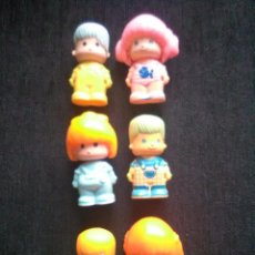 Figuras de Goma y PVC: PIN Y PON. Lote 142379990