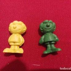 Figuras de Goma y PVC: FIGURAS DUNKIN BRUGUERA IBÁÑEZ, ZIPI Y ZAPE. . Lote 142382090